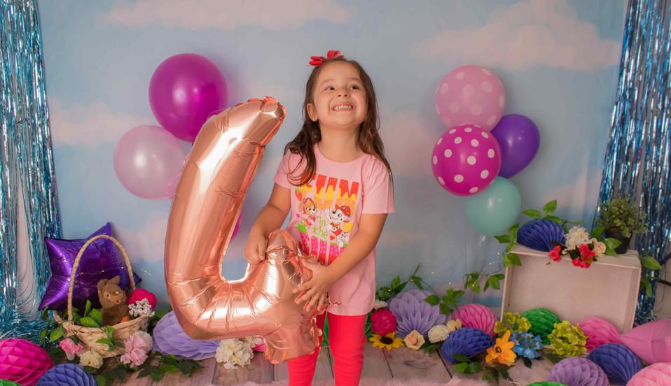 Fotografía de cumpleaños bichikids