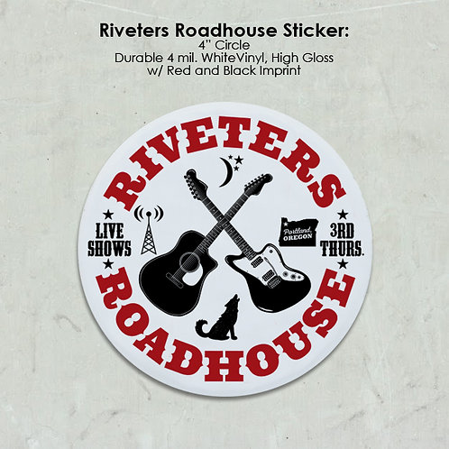 Riveters Roadhouse Sticker