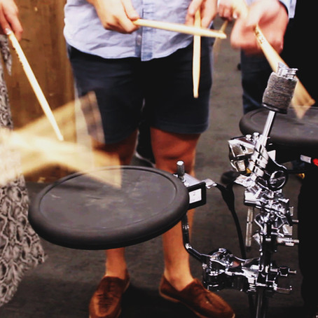 Why drumming's a great way to build trust in teams
