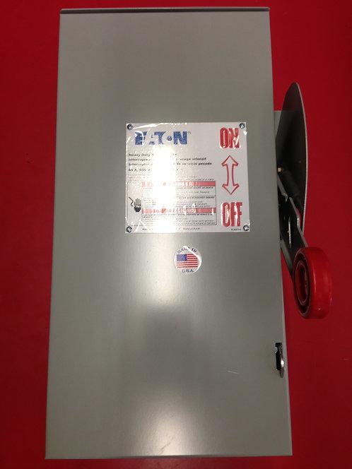 60A 600V 3 Pole Outdoor Disconnect