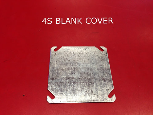 4S Blank Cover