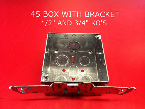 4S Box With Bracket