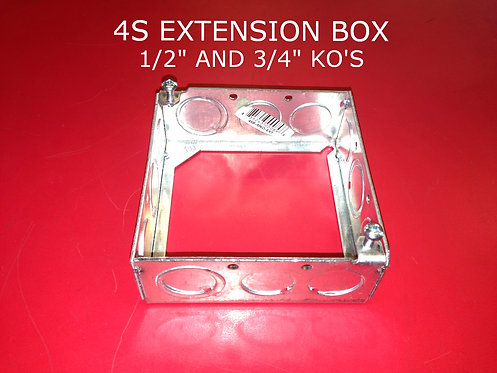 4S Extension Box