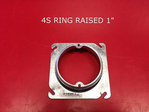 "4S Ring Raised 1"""