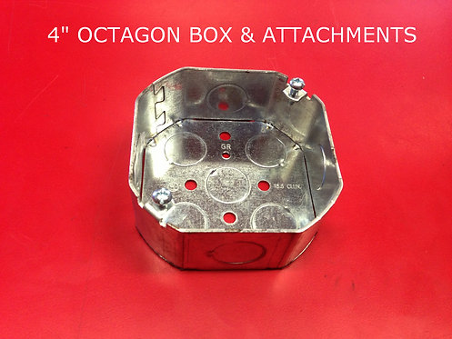 "4"" Octagon Boxes and Attachments"