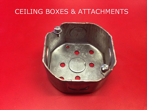 """3"""" Ceiling Boxes and Attachments"""