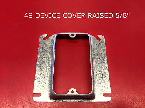 """4S Device Cover Raised 3/8"""""""