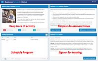 Screenshot of QLBS Diagnostic report page