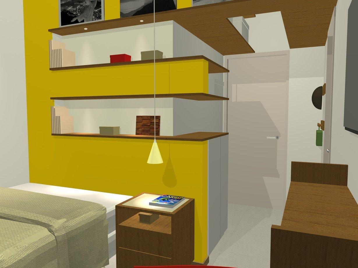 STUDIO_Vista da Cozinha para o Hall de Entrada_T