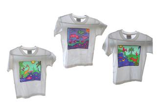 הדפס לחולצת ילדים