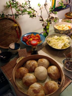 שולחן ארוחת ראש השנה הסיני