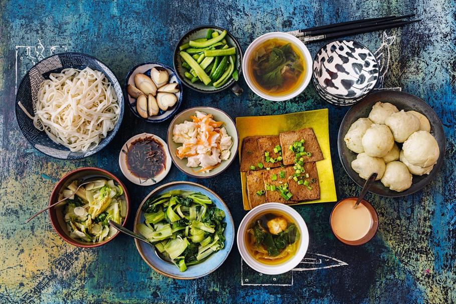 ארוחה טייוואנית