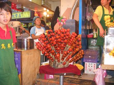 עגבניות שרי מצופות בסוכר
