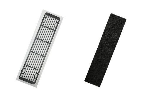RH-90ER Filter Grill + Charcoal Sponge Set