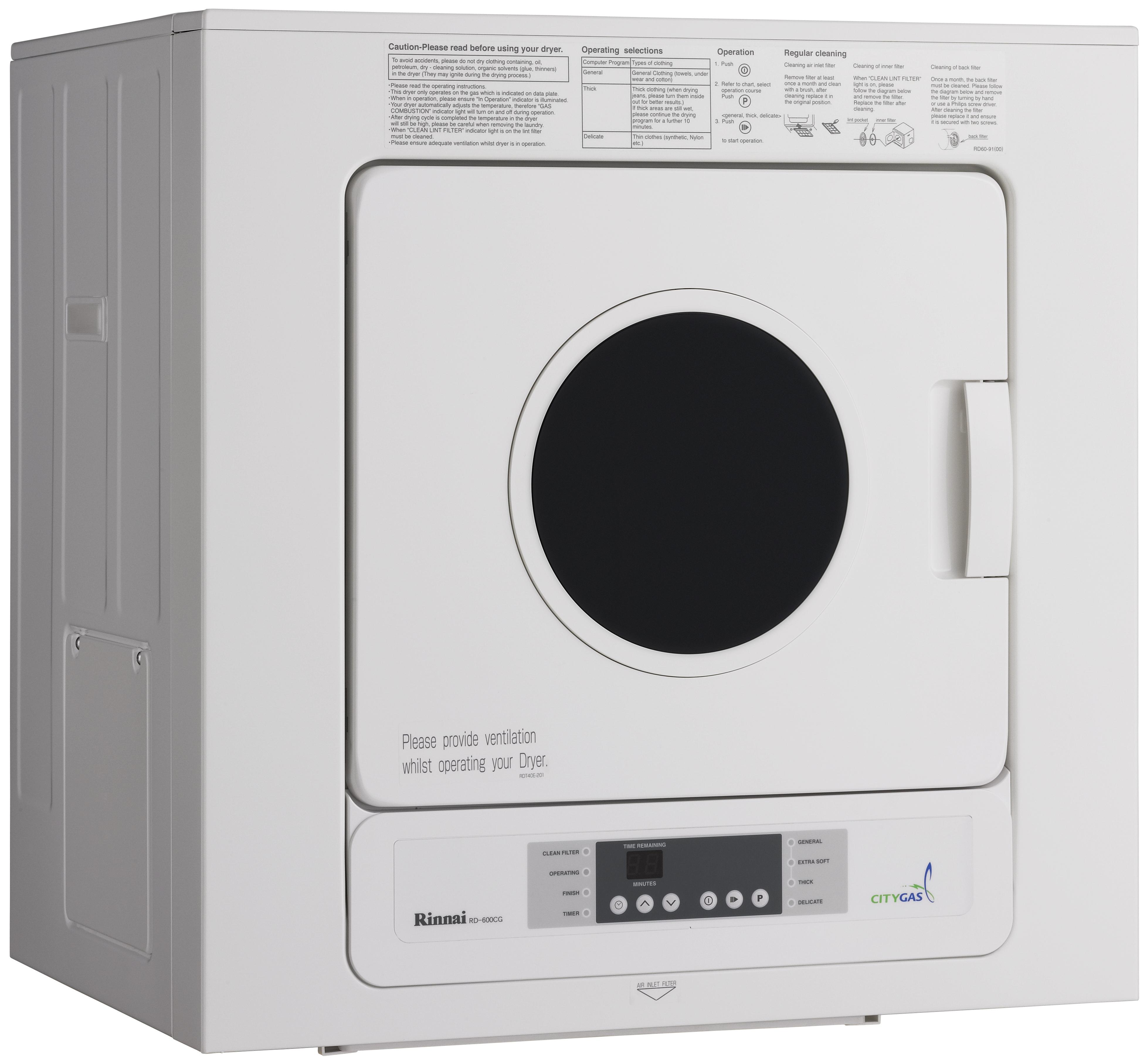 Gas Dryer