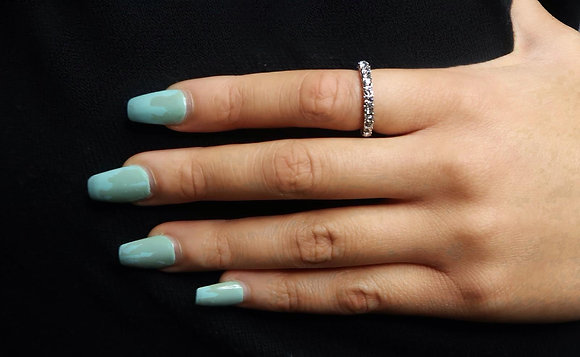 Amirah Thick Eternity Ring