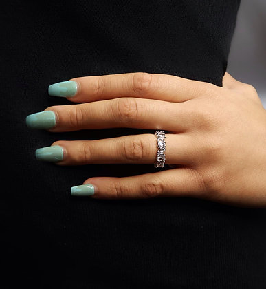 Amirah Rough Eternity Ring