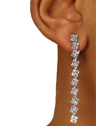 Kali Squares Drop Earrings