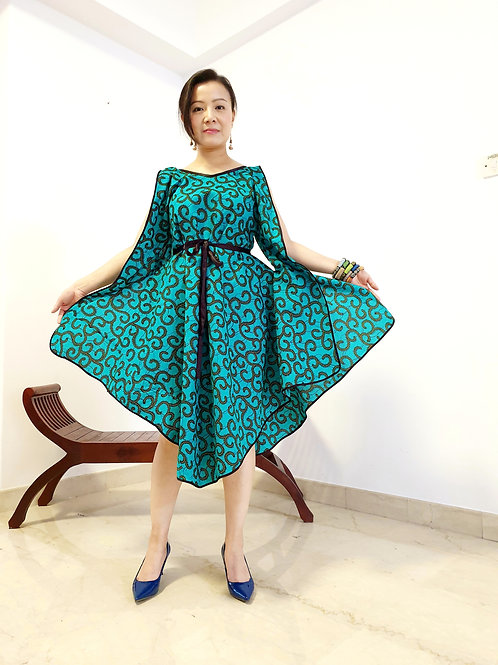Green Makeba Dress
