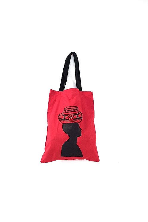 Red Portrait Bag