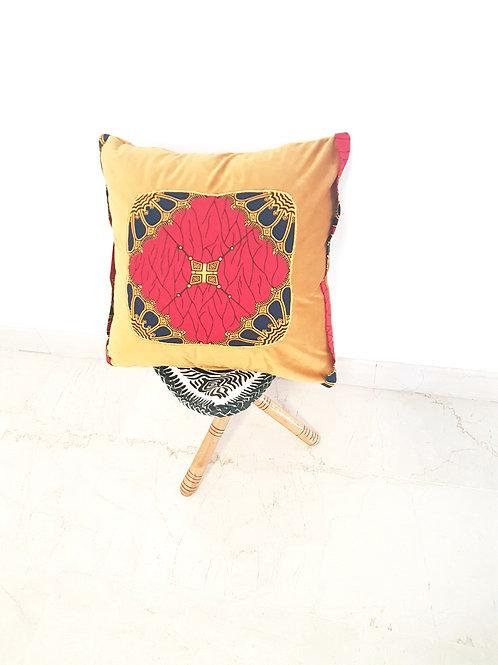 Red Block cushion