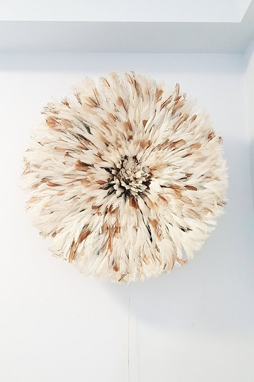 Decorative Wall Hanging (Cream Specks Juju Hat)