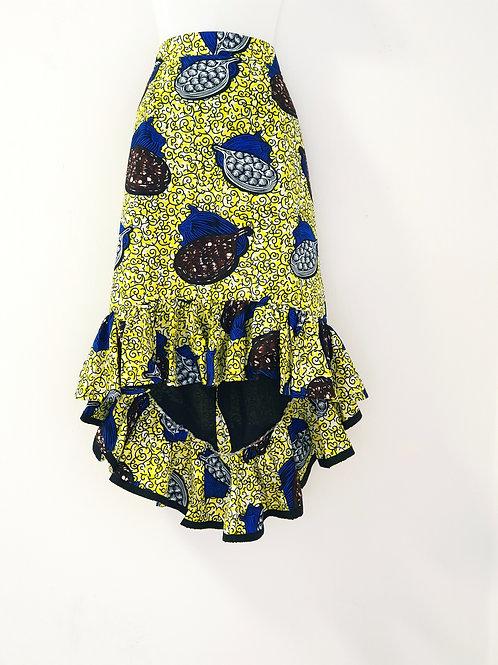 Cocoa Pod Hi-Lo skirt
