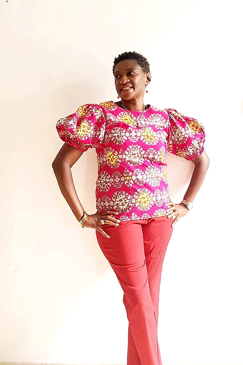 Red Puffy Sleeves