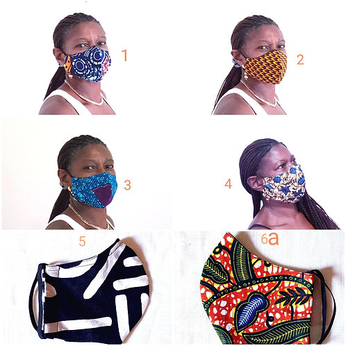 African Print Masks