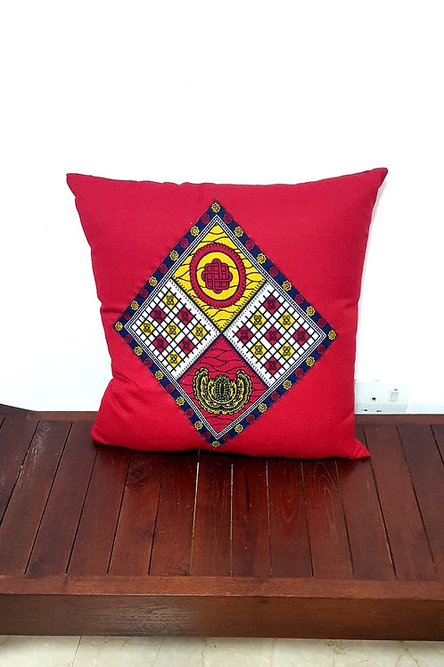 Diamond African Print Cushion