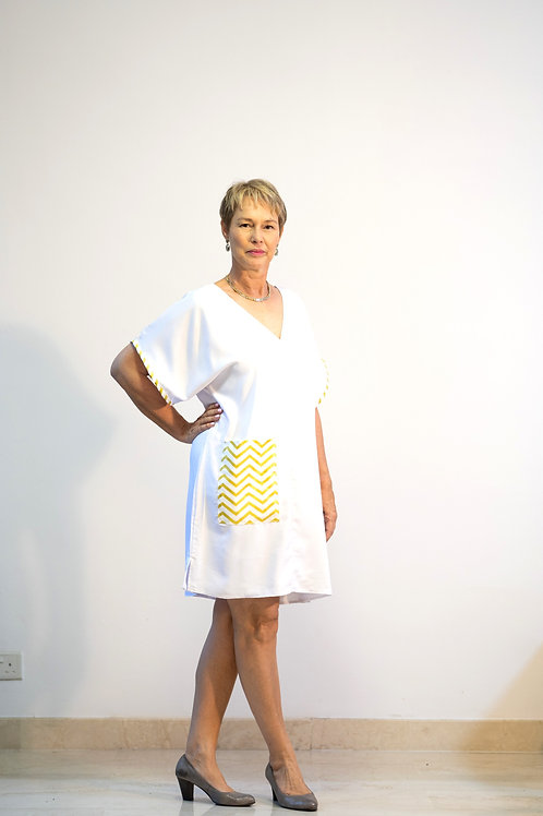 Chevron Pocket Dress