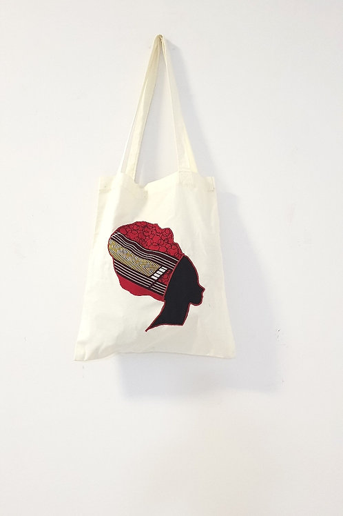 Red Headwrap Bag