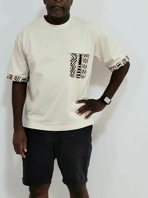 Cream Symbol T- Shirt