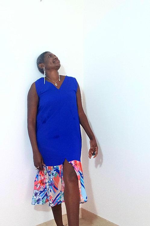 Mid Slit Midi Dress