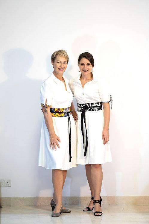 Hibiscus Obi Belt Dress