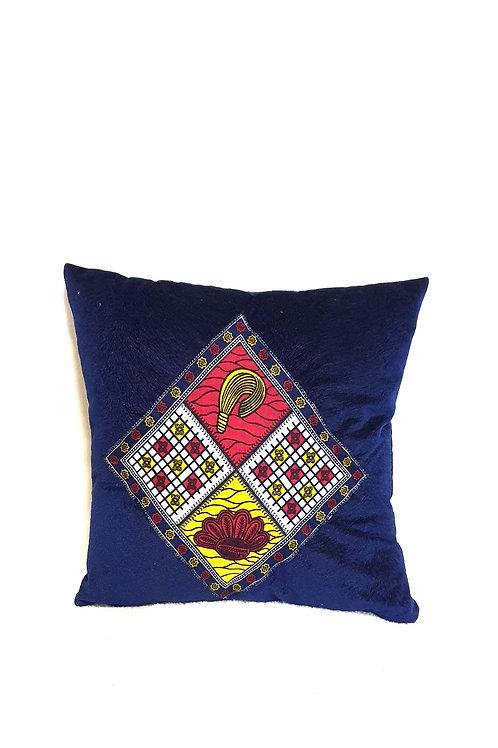 Ankara Diamond Cushion