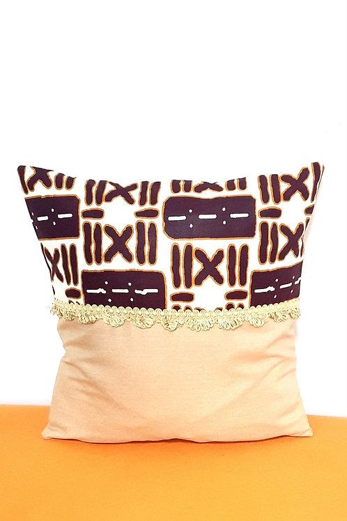 Woodin Split Cushion Cover (Symbols)