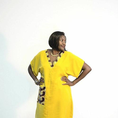 Ankara Pocket Dress