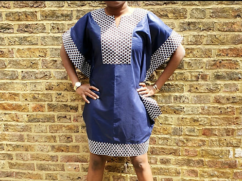 Blue Makeba Dress