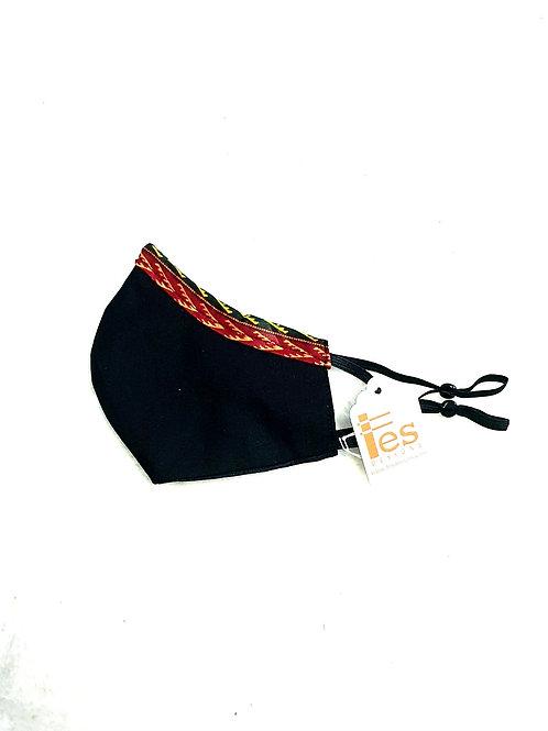 Dashiki Trim Mask
