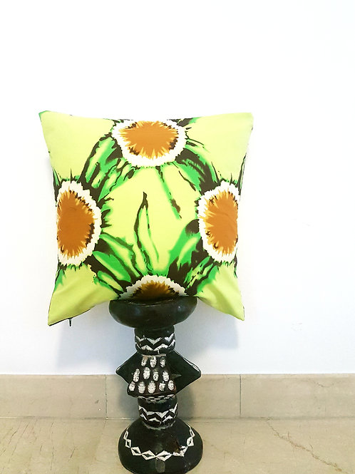 Lime Light Batik Cushion