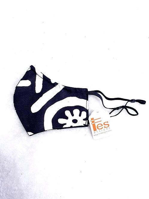 Black & White Symbol Mask