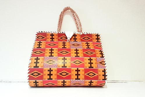 Orange Kente Handbag