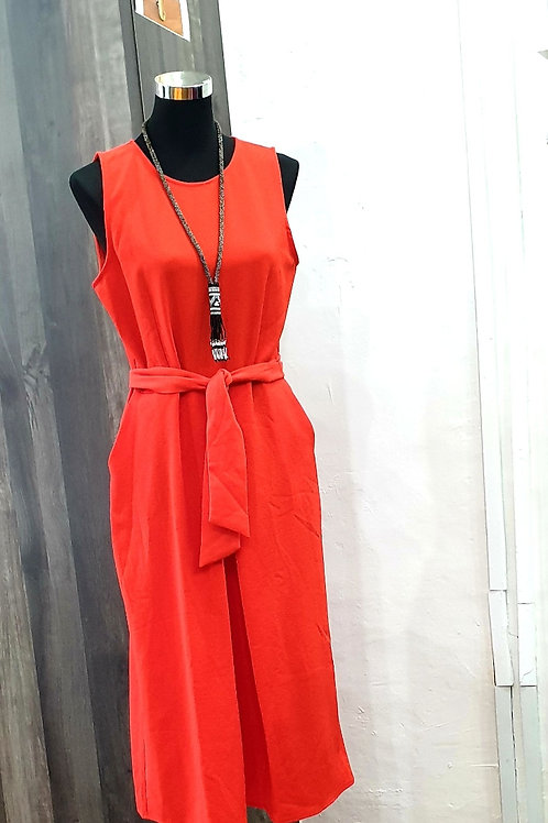 Box Pleated Jumpsuit