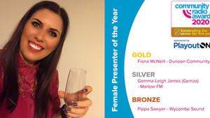 I Won Silver Award Again For Best Female Presenter