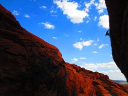 Adam Van Luu Climbing