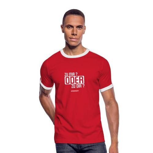 T-Shirt Zu mir oder zu Dir - stream2city