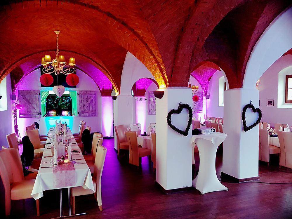 Hochzeit im Bowlinggewölbe Hotel Kloster Nimbschen Grimma