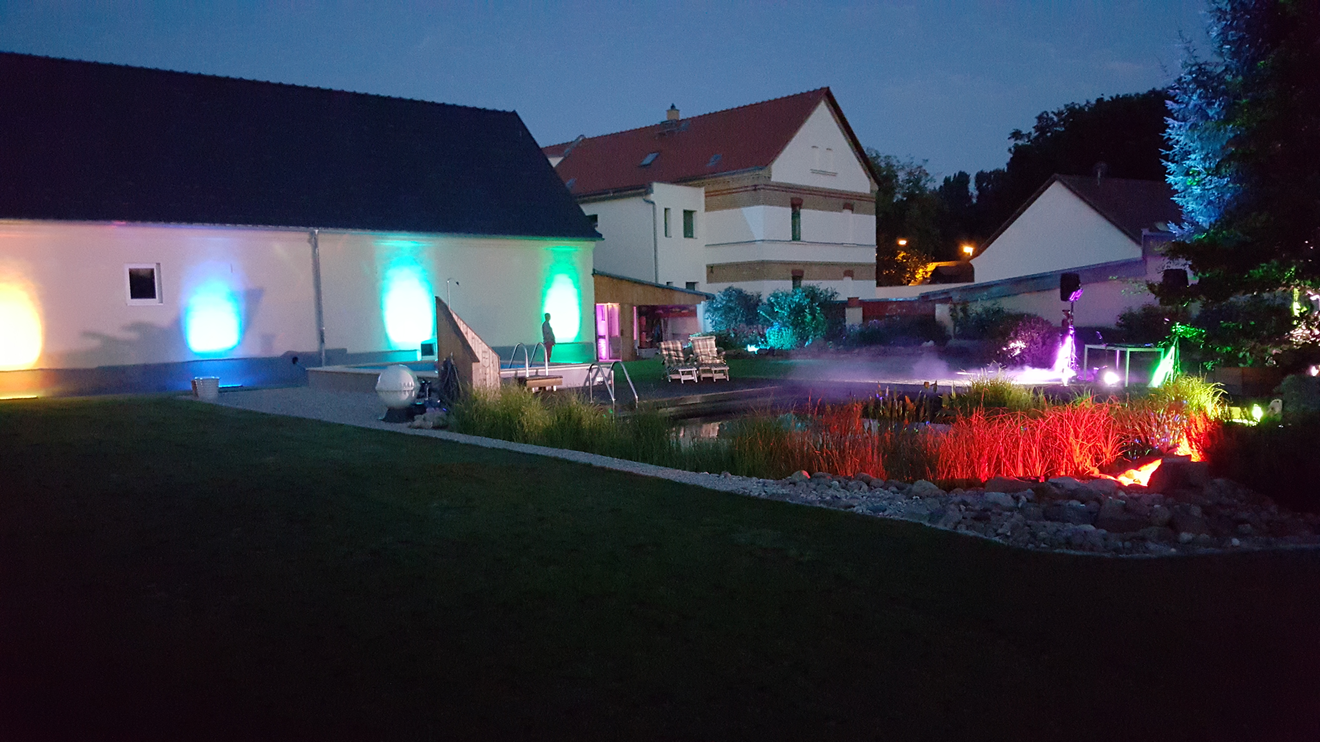 DJ für Poolparty in Seegeritz Taucha