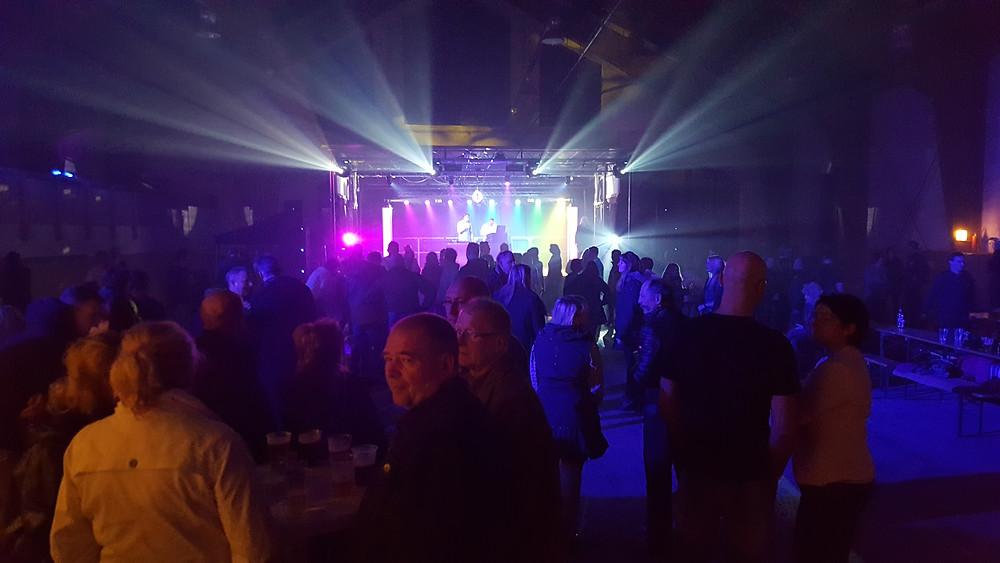 Party in der Reithalle Gut Graßdorf